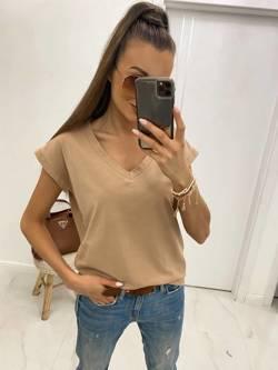 T-Shirt BASIC camel